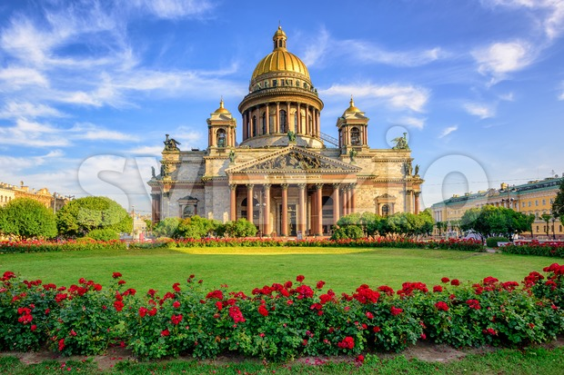 St Isaac cathedral, Saint Petersburg, Russia Stock Photo