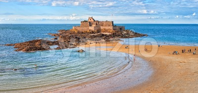 Saint Malo, Brittany, France Stock Photo