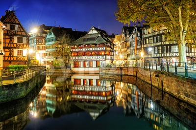La Petite France, Strasbourg, Alsace, France Stock Photo