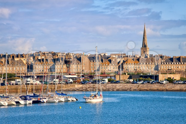 Saint-Malo, Brittany, France Stock Photo