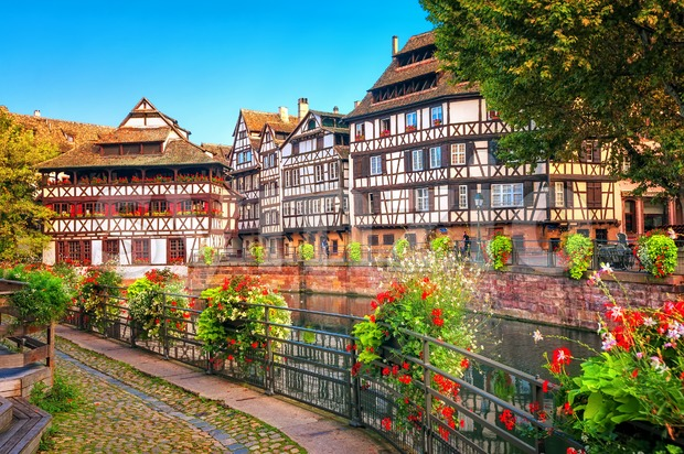 Strasbourg, La Petite France district, France Stock Photo