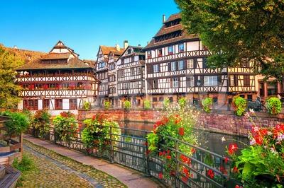 Strasbourg, La Petite France district, France Stock Photo