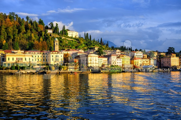 Bellagio resort town on Lake Como, Lombardy, Italy Stock Photo