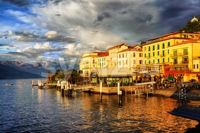 Bellagio, Lake Como, Italy Stock Photo