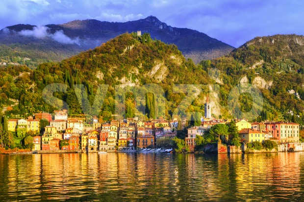 Menaggio, Como Lake, Italy Stock Photo