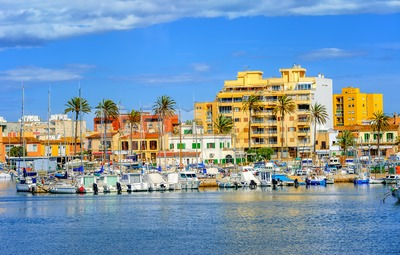 Palma de Mallorca, Majorca island, Spain Stock Photo