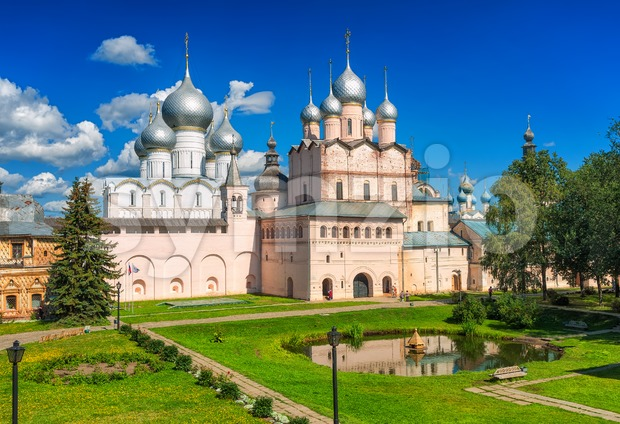 Rostov the Great, Golden Ring, Russian Federation Stock Photo