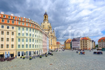 Dresden Old Town, Germany Stock Photo
