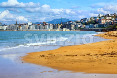 San Sebastian - Donostia, Spain, Basque Country Stock Photo