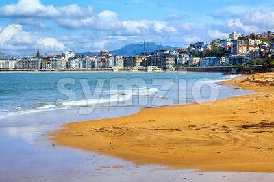 San Sebastian - Donostia, Spain, Basque Country Stock Photo