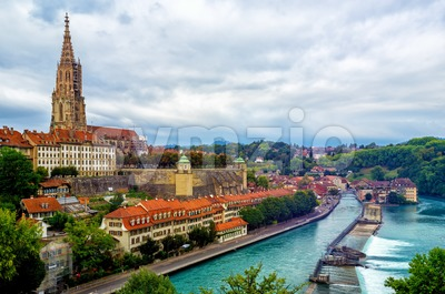 Bern, the capital city of Switzerland Stock Photo
