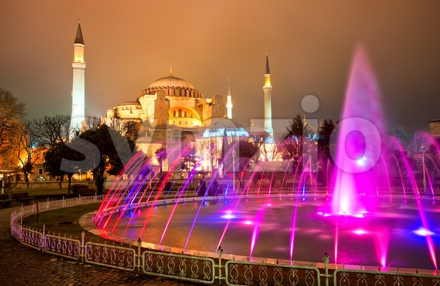 Hagia Sophia, Istanbul, Turkey Stock Photo