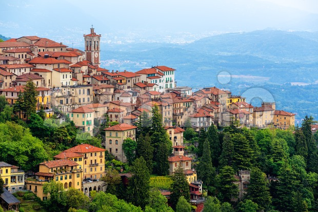Sacro Monte di Varese, Lombardy, Italy Stock Photo