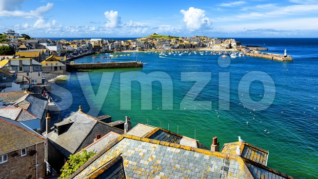 St Ives town, Cornwall, United Kingdom Stock Photo