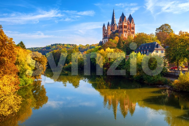 Limburg an der Lahn town, Germany Stock Photo