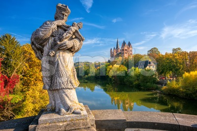 Limburg an der Lahn town, Hesse, Germany Stock Photo