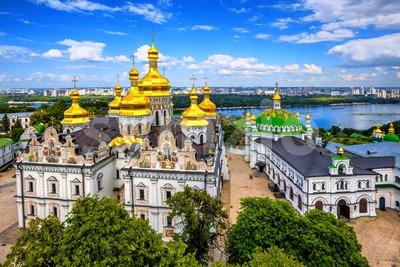 Kyiv Monastery of the Caves, Kiev, Ukraine Stock Photo