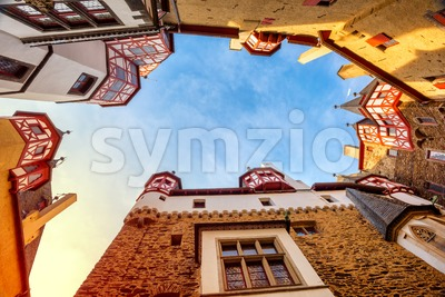 Burg Eltz medieval castle, Germany Stock Photo