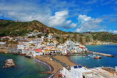 Sant'Angelo resort on Ischia island, Naples, Italy Stock Photo