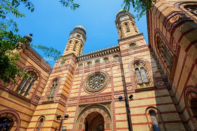 Budapest Great Synagogue, Hungary Stock Photo