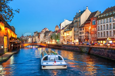 Strasbourg Old town, Alsace, France Stock Photo