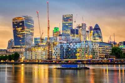 London City, England, United Kingdom Stock Photo