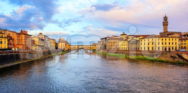 Florence city view, Tuscany, Italy Stock Photo