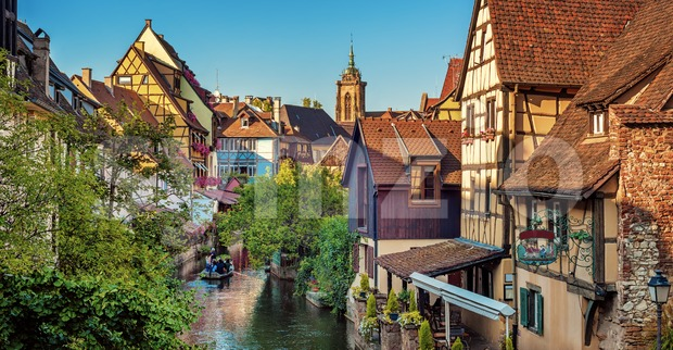 Colmar Old town, Alsace, France Stock Photo