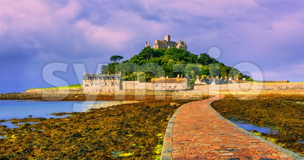 St Michael's Mount, Cornwall, England Stock Photo