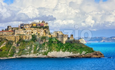 Procida island, Naples, Italy Stock Photo