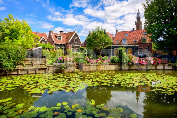 Edam town, North Holland, Netherlands Stock Photo