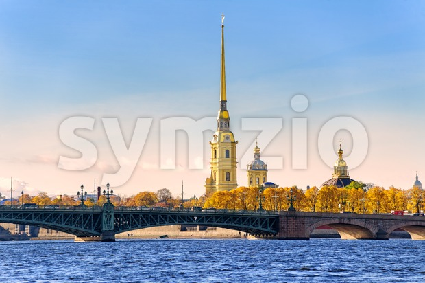 Peter and Paul Fortress, St Petersburg, Russia
