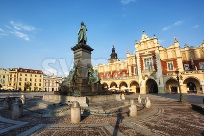 Rynek square in Krakow Old town, Poland Stock Photo
