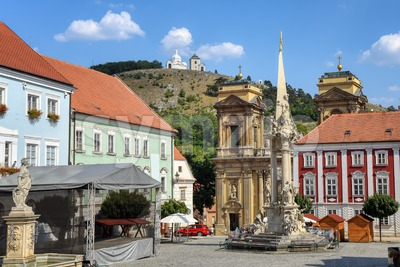 Mikulov Old town, Moravia, Czech Republic Stock Photo