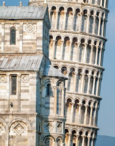 Leaning tower of Pisa, Italy Stock Photo